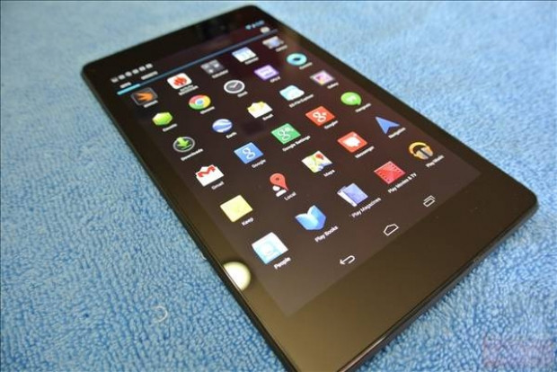 Google Nexus 7'nin ilk görüntüleri - Page 1