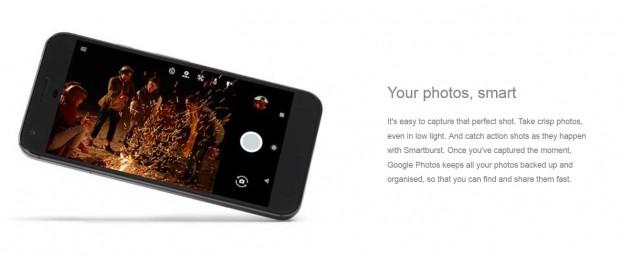 Google Piksel XL ve Pixel'in resmi görüntüleri - Page 4