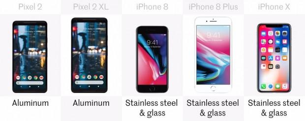 Google Pixel 2 ve 2 XL - iPhone X, 8 ve 8 Plus'a karşı - Page 3