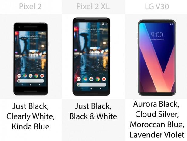 Google Pixel 2 ve 2 XL ve LG V30 karşı karşıya - Page 2