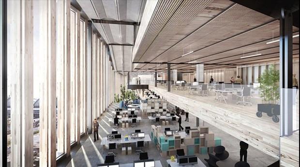 Google'ın Londra'da inşa edeceği yeni binası - Page 1