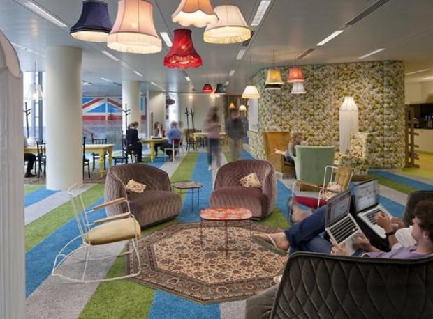 Google'ın muhteşem ofislerini görmelisiniz - Page 1