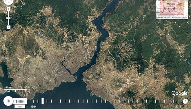 İstanbul'un son 32 yılı Google Maps'te! - Page 1