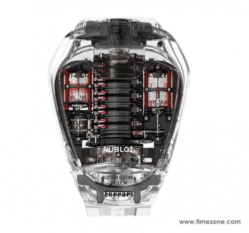 Gördüğünüz tüm saatleri unutturacak HUBLOT, MP-05 LaFerrari Sapphire - Page 2