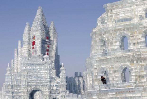 Görenlerin hayran olduğu Buz şehri! - Page 1
