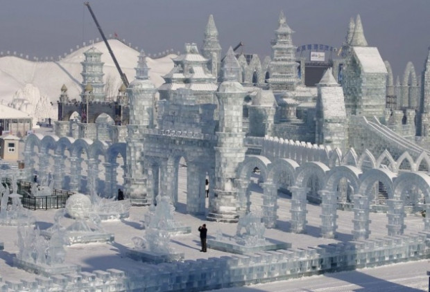 Görenlerin hayran olduğu Buz şehri! - Page 2