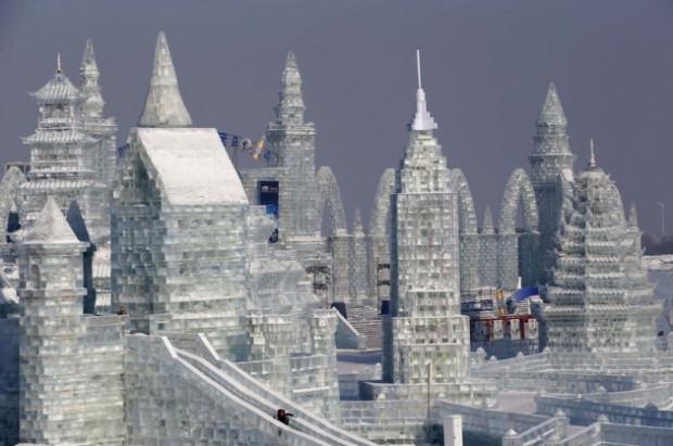 Görenlerin hayran olduğu Buz şehri! - Page 4