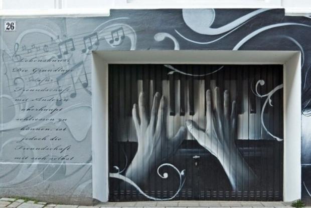 Graffiti garaj kapılarıyla buluştu - Page 3