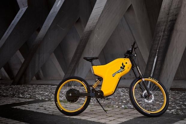 Greyp G12S Rimac konsept dünyanın ikinci elektrikli bisikleti - Page 1