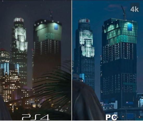GTA 5 oyunundaki grafikleri PC ve Play Station'da karşılaştıran 15 görsel - Page 3