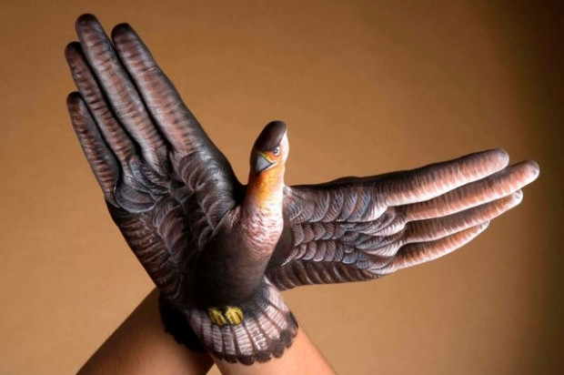 Guido Daniele elleriyle hayvan figürleri resmediyor - Page 2