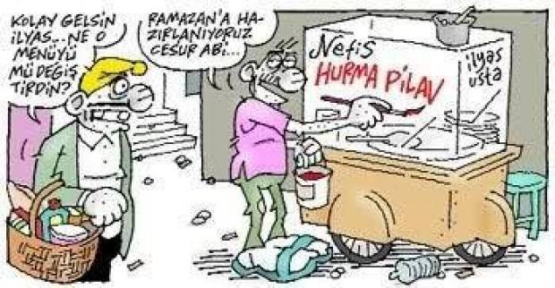 Güldüren Ramazan karikatürleri - Page 1