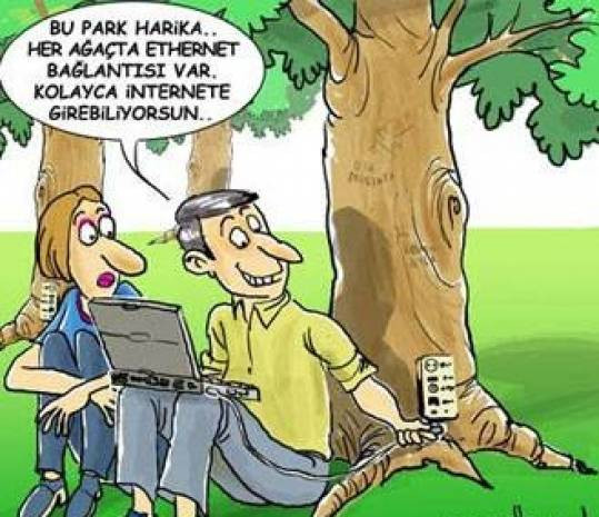 Güldüren Teknoloji karikatürleri - Page 1