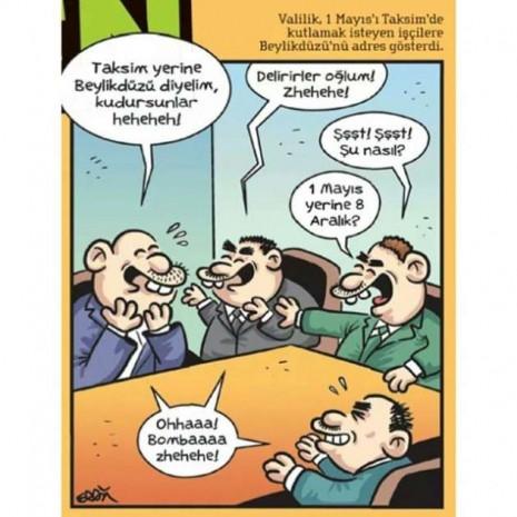 Güldüren ve düşündüren 1 Mayıs karikatürleri - Page 1