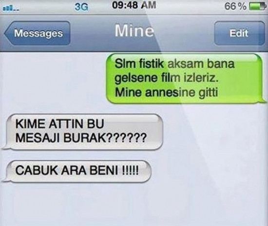 Güldüren Whatsapp mesajları! - Page 1