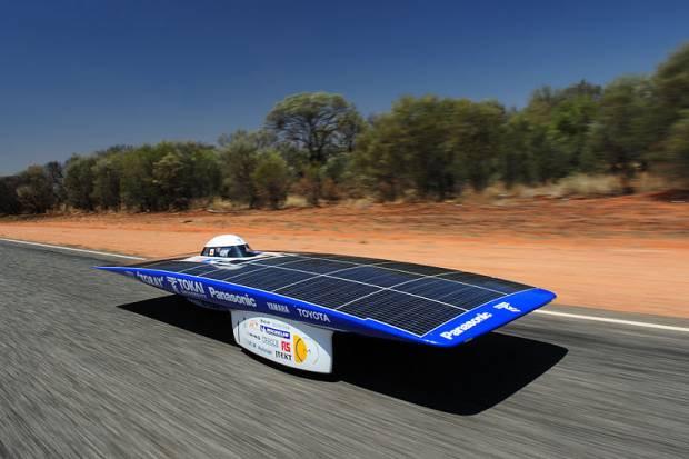 Güneş enerjili yarış otomobilleri - Page 1