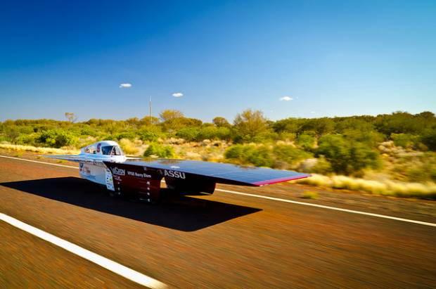 Güneş enerjili yarış otomobilleri - Page 3