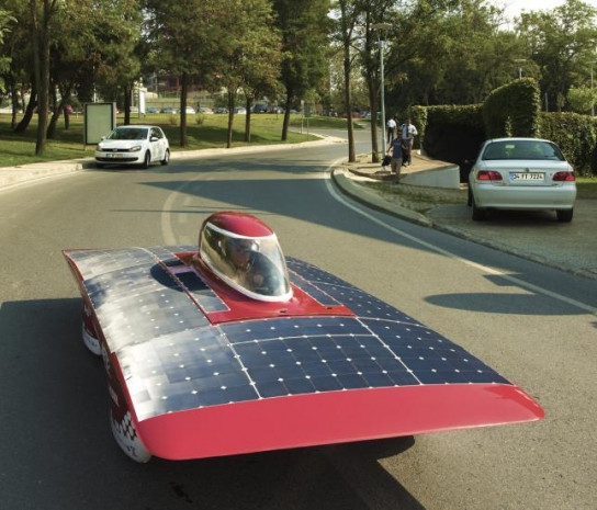 Güneş enerjisiyle çalışan araçlar - Page 3