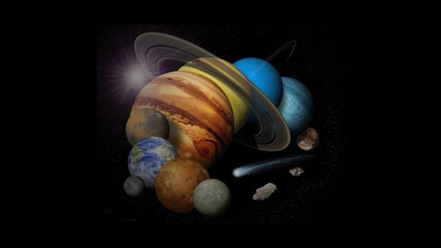 Güneş sisteminin bilinmeyen sırları - Page 1