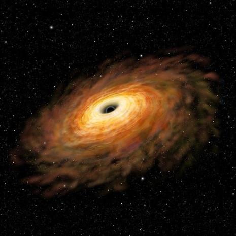 Güneşten yüz bin kat daha büyük kara delik bulundu - Page 1