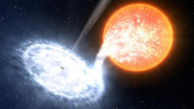 Güneşten yüz bin kat daha büyük kara delik bulundu - Page 3