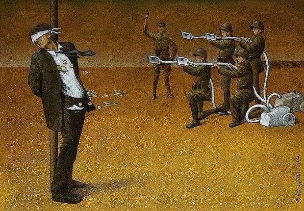 Günümüz dünyasını acımasız bir şekilde eleştiren ressamın 14 çarpıcı tablosu - Page 2