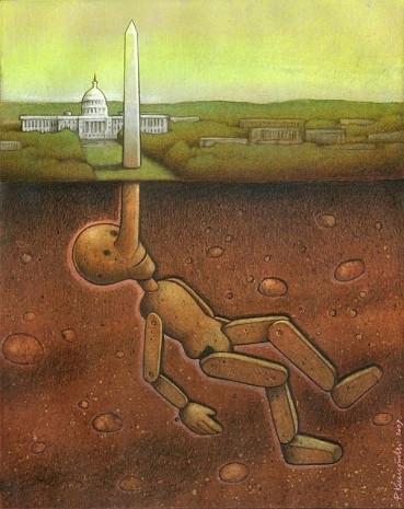Günümüz dünyasını acımasız bir şekilde eleştiren ressamın 14 çarpıcı tablosu - Page 3