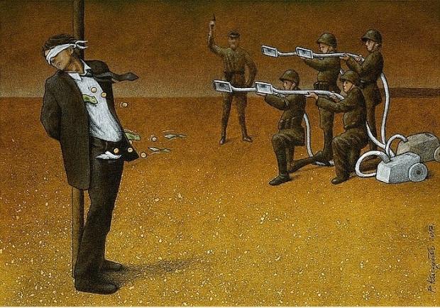 Günümüz dünyasını acımasız Bir şekilde eleştiren ressamın 15 çarpıcı tablosu - Page 2