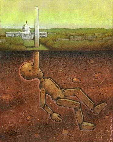 Günümüz dünyasını acımasız Bir şekilde eleştiren ressamın 15 çarpıcı tablosu - Page 3