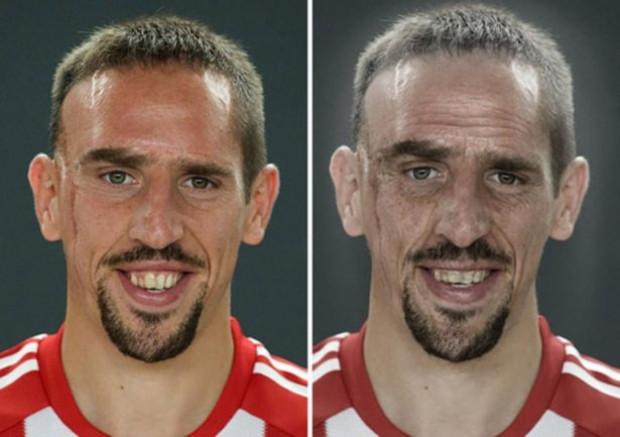 Günümüzün futbolcuları yaşlanınca nasıl görünecekler? - Page 1