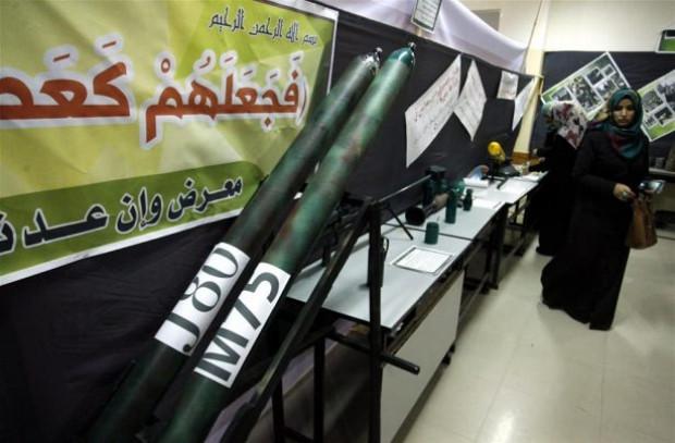 Hamas müzesinde silahlarını tanıttı! - Page 1