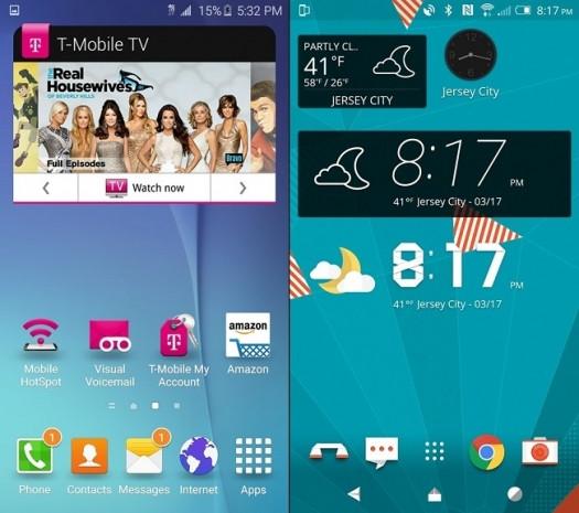Hangsi daha iyi? HTC Sense 7.0 ve yeni TouchWiz arayüz karşılaştırması - Page 2
