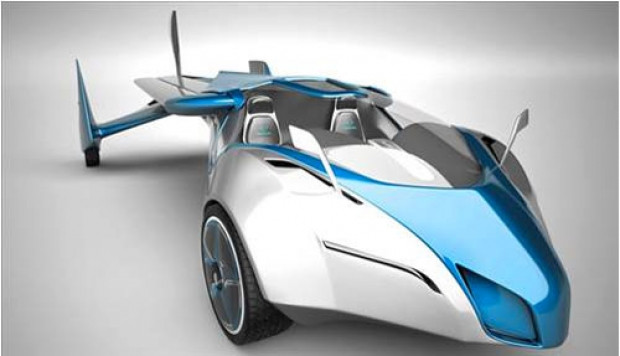 Hayalini gerçekleştiren mühendis uçan araba yaptı! - Page 3
