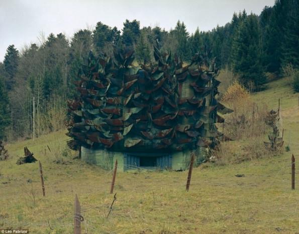Hayrete düşüren  İsviçre'nin askeri binaları - Page 2