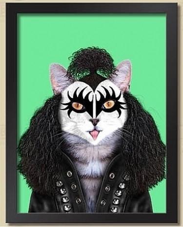 Hayvanları ilginç kılıklara sokarak ünlülere benzetildiği çalışmadan 17 eğlenceli kare - Page 1