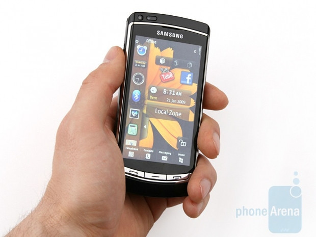 HD video kaydı yapabilen ilk telefon Samsung Omnia HD i8910 - Page 3
