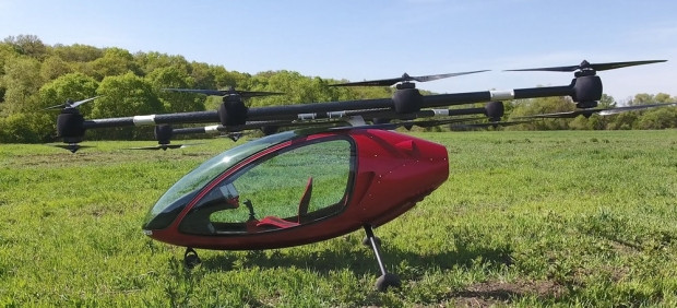 Hem Drone hem uçan taksi Passenger Drone - Page 1