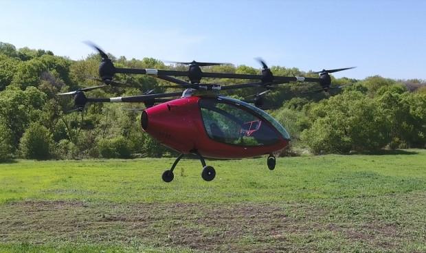 Hem Drone hem uçan taksi Passenger Drone - Page 3