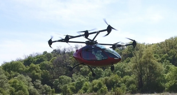 Hem Drone hem uçan taksi Passenger Drone - Page 4