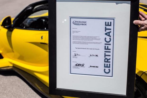 Hennessey Venom GT Spyder dünyanın en hızlı kabrio modeli oldu - Page 1