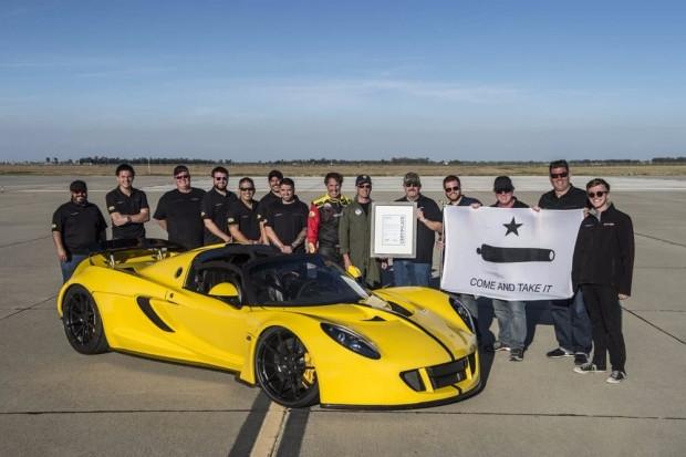 Hennessey Venom GT Spyder dünyanın en hızlı kabrio modeli oldu - Page 2