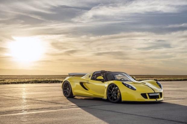 Hennessey Venom GT Spyder dünyanın en hızlı kabrio modeli oldu - Page 4