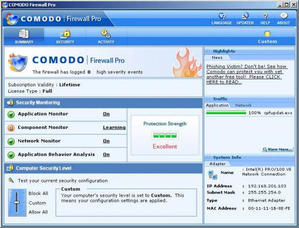 Her bilgisayarda olması gereken programlar - Güvenlik Duvarı Uygulamaları - Page 1
