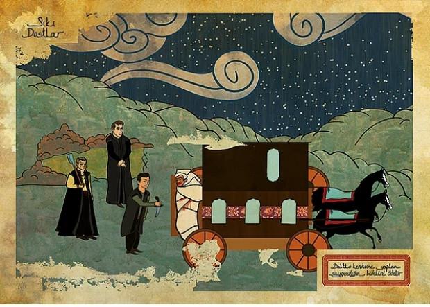 Hollywood filmleri Osmanlı minyatürlerine dönüşürse - Page 3