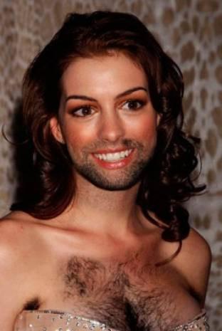 Hollywood güzellerinin sakallı halleri! - Page 2