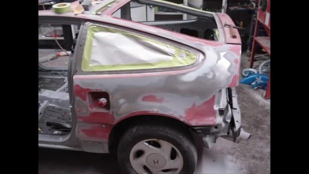 Honda CRX model aracını tepeden tırnağa değiştirdi - Page 4