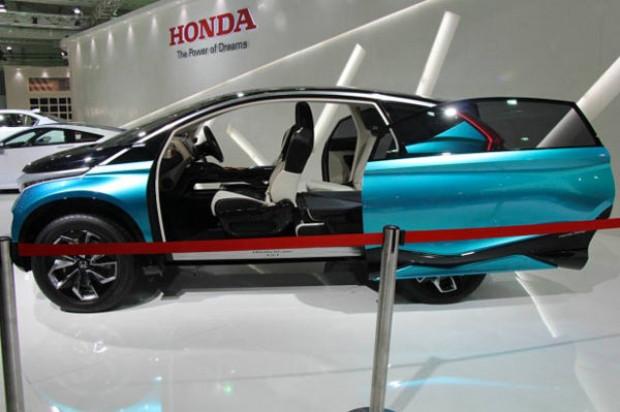 Honda'nın sıra dışı konsepti Vision XS-1'i Hindistan'da göründü! - Page 1