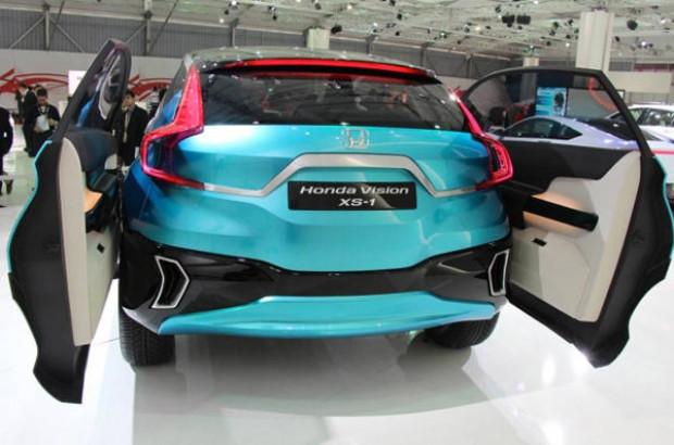Honda'nın sıra dışı konsepti Vision XS-1'i Hindistan'da göründü! - Page 2