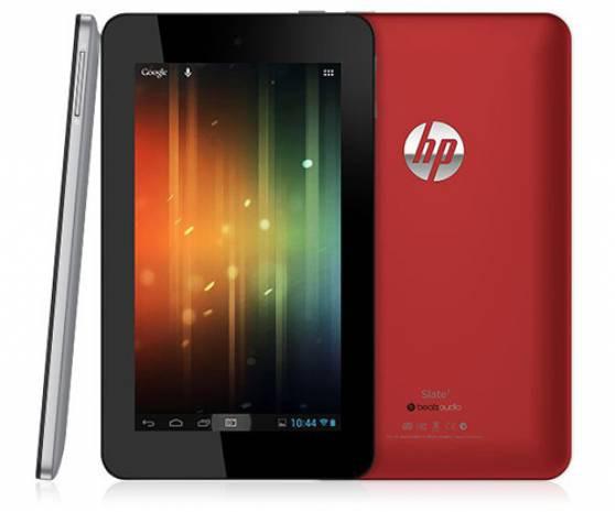 HP de 7 inçlik tablet piyasaya giriş yaptı - Page 1