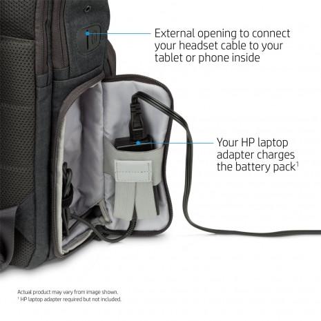 HP Powerup Sırt çantası aynı anda bütün cihazları şarj edebiliyor - Page 1